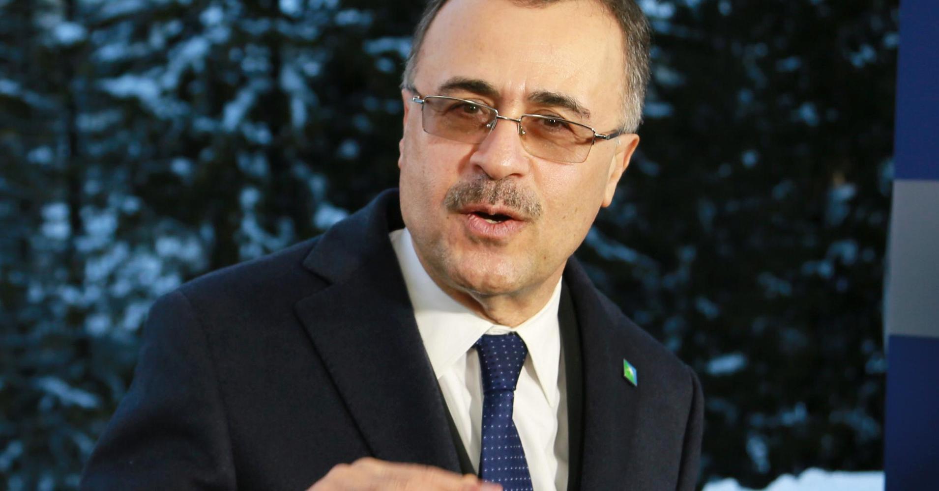 Amin Nasser, CEO, Saudi Aramco. Source: Katie Kramer/CNBC.
