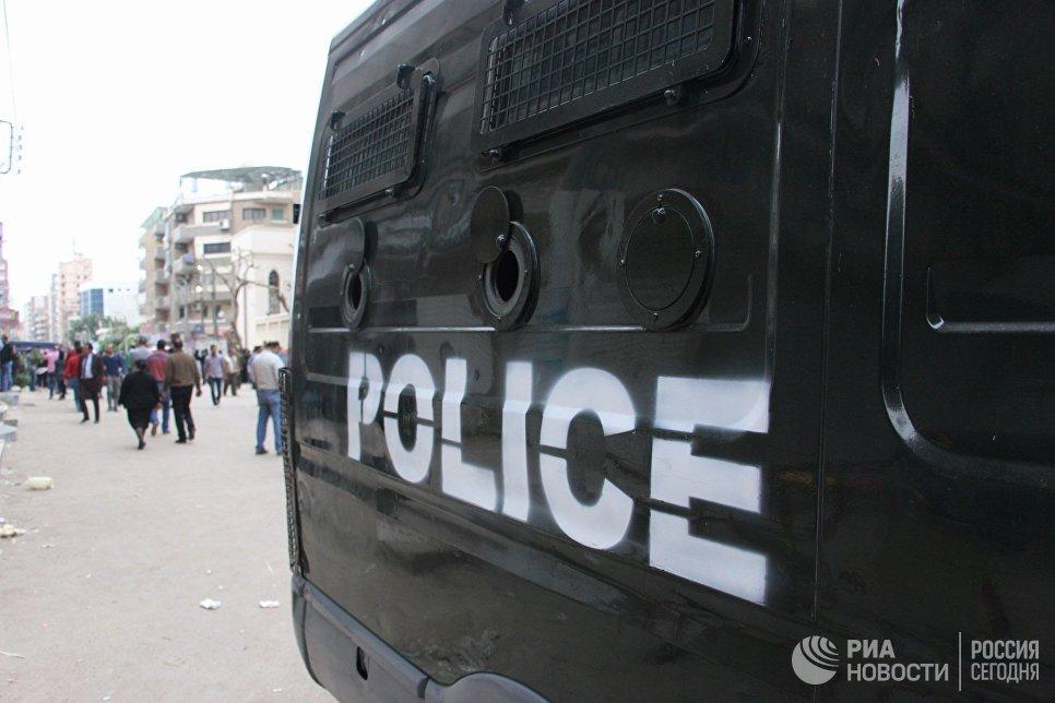 Автомобиль египетской полиции