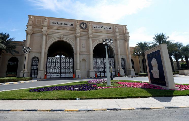 Отель Ритц-Карлтон в Эр-Рияде