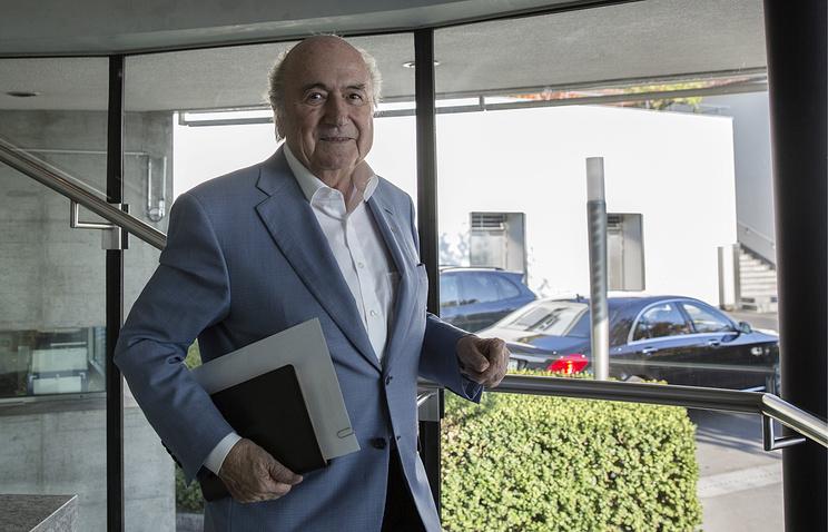 Бывший президент Международной федерации футбола Йозеф Блаттер.