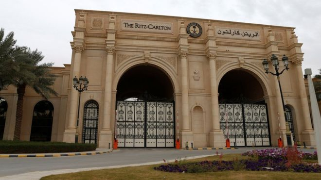 The high-profile figures were detained at Riyadh's Ritz-Carlton Hotel