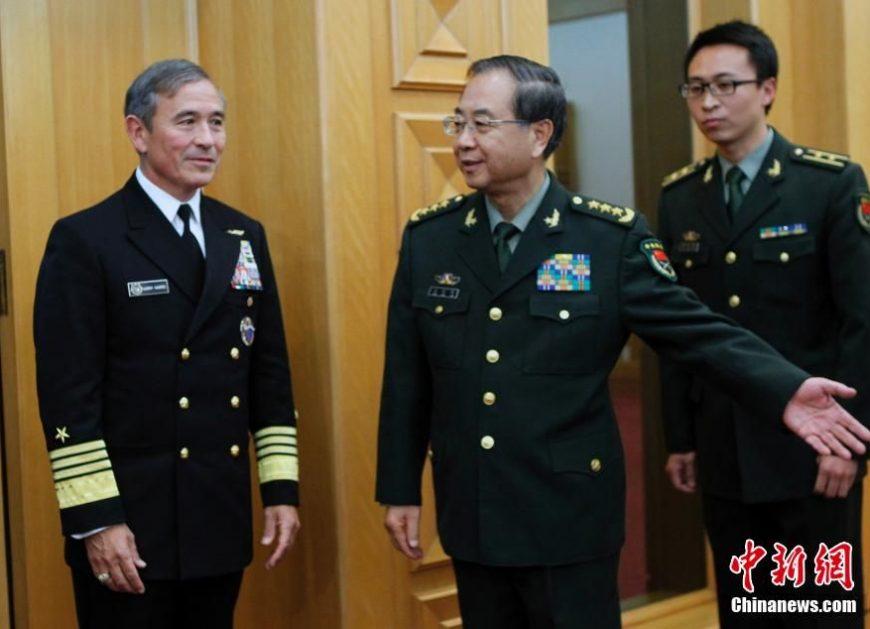 Китайский генерал Fang Fenghui