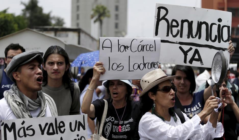 Guatemalan Protests