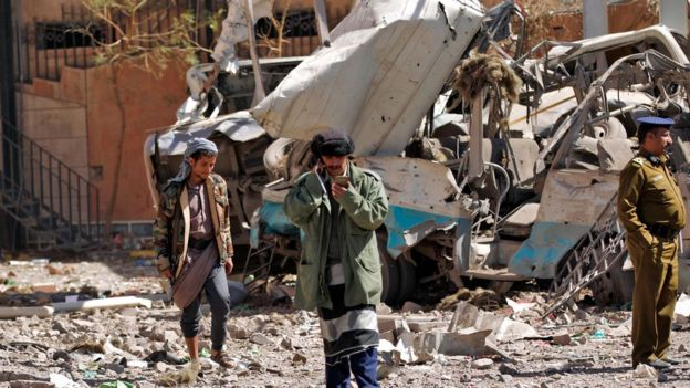 Many Yemeni civilians have died in Saudi-led air strikes