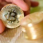 Схематичное изображение криптовалюты