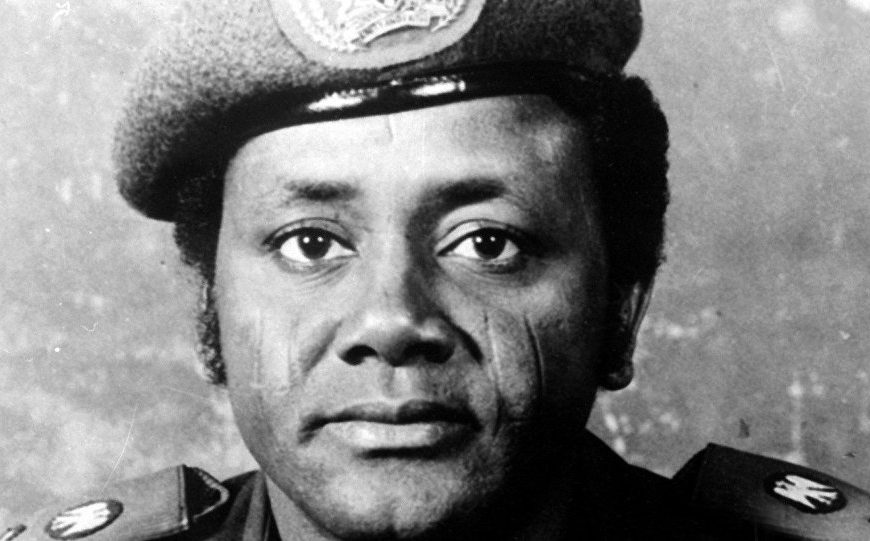 Sani Abacha, who was a Nigerian Army officer and politician who served as the de facto President of Nigeria from 1993 to 1998.