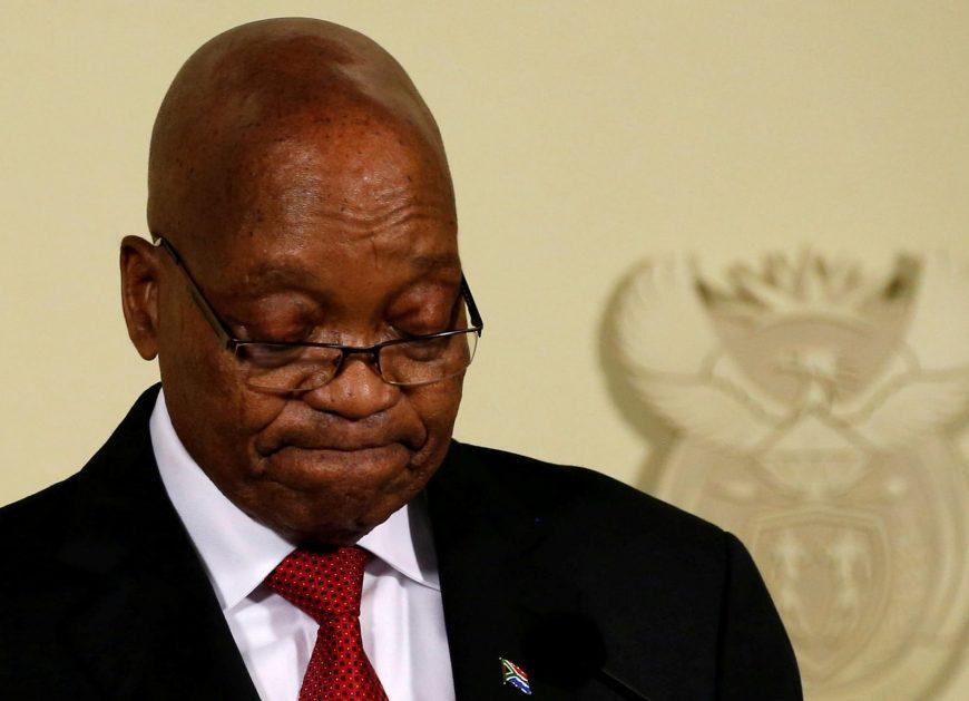 отставка президента ЮАР, South African President Jacob Zuma