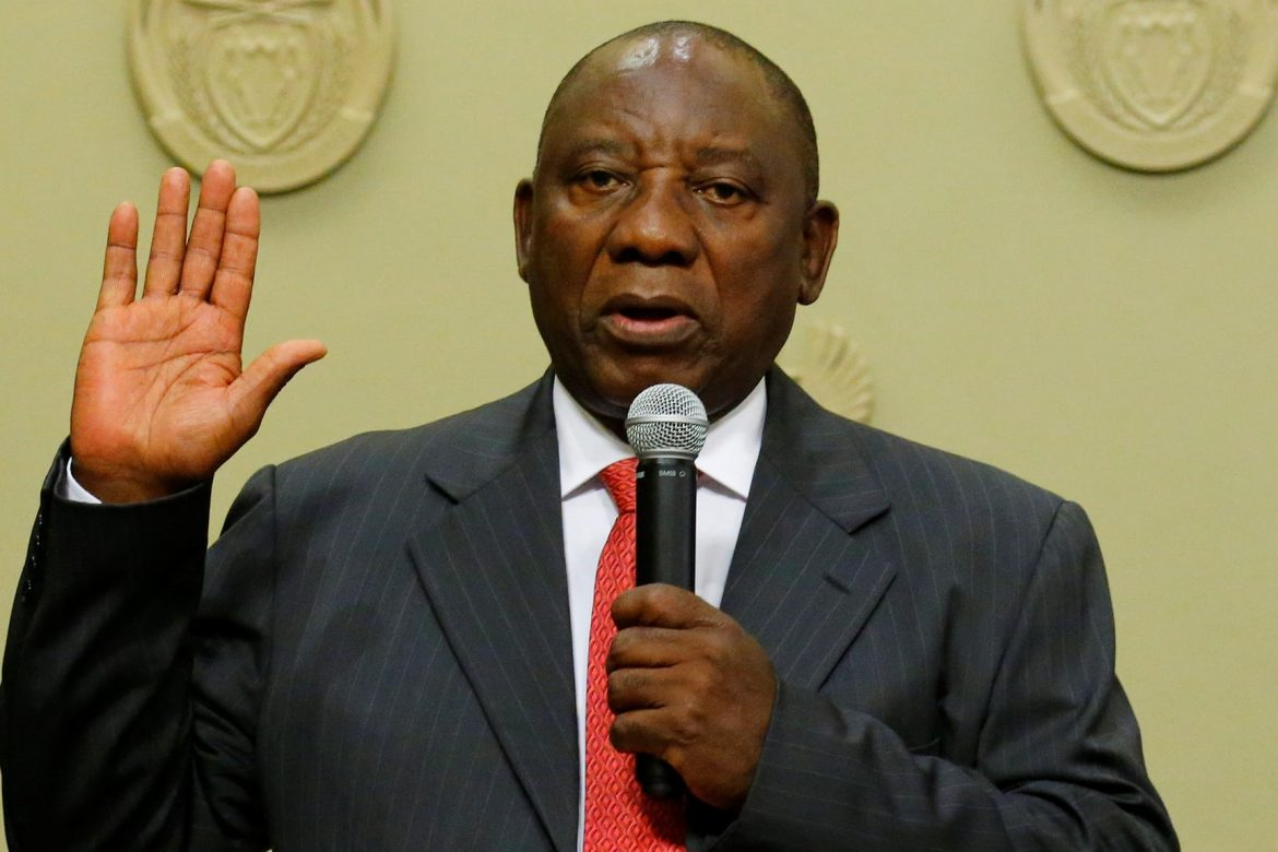 New South African President Cyril Ramaphosa
