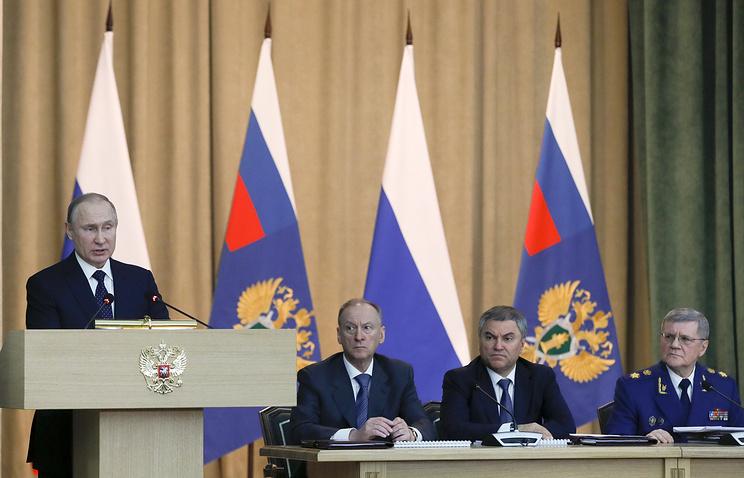 Президент России пообещал, главы различных ведомств