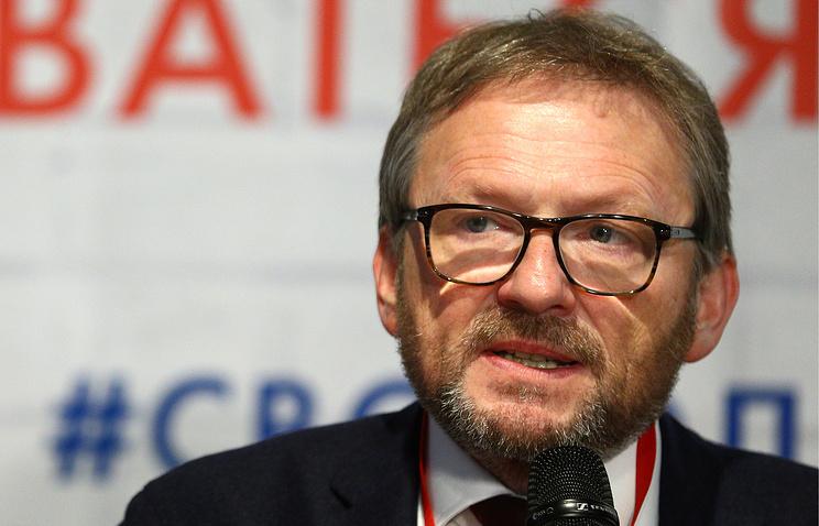 Уполномоченный при президенте РФ по защите прав предпринимателей, кандидат в президенты РФ Борис Титов.