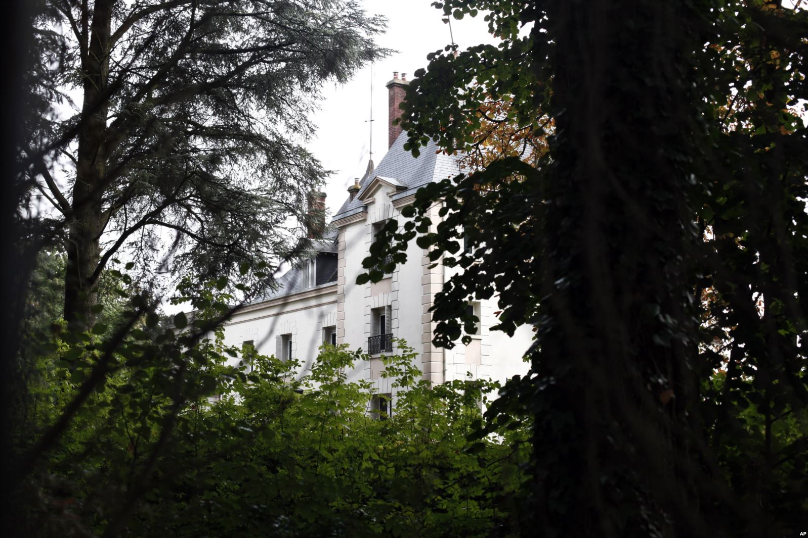 The manor of Bashar al-Assad's uncle, Rifaat al-Assad, is seen, in Bessancourt, north of Paris, Sept. 13, 2013. The manor whose real estate portfolio in the Paris region alone is estimated at Euros 160 million. A property in London, once owned by Rifaat al-Assad, was sold before it could be seized by authorities.