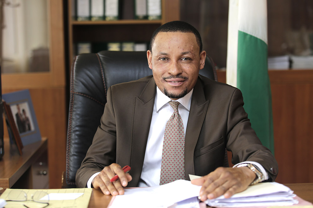 Nigerian anti-corruption judge Danladi Umar.