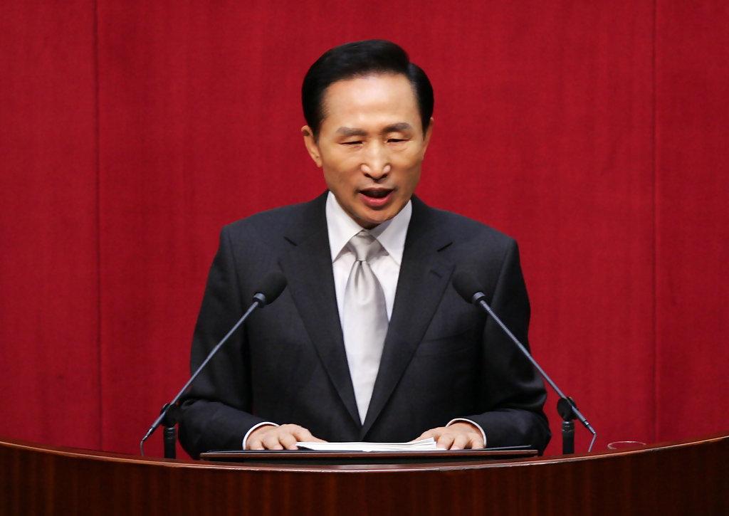 вице-президента Самсунг, Samsung's Ex-President Lee Myung bak