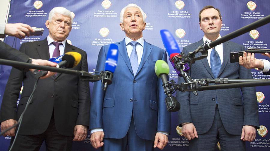 Глава Дагестана Владимир Васильев