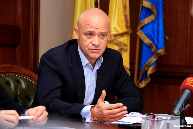 задержали в киевском, Мэр Одессы Геннадий Труханов