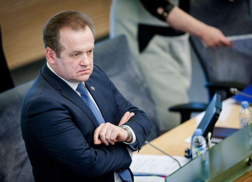 Lithuanian lawmaker Artūras Skardžius