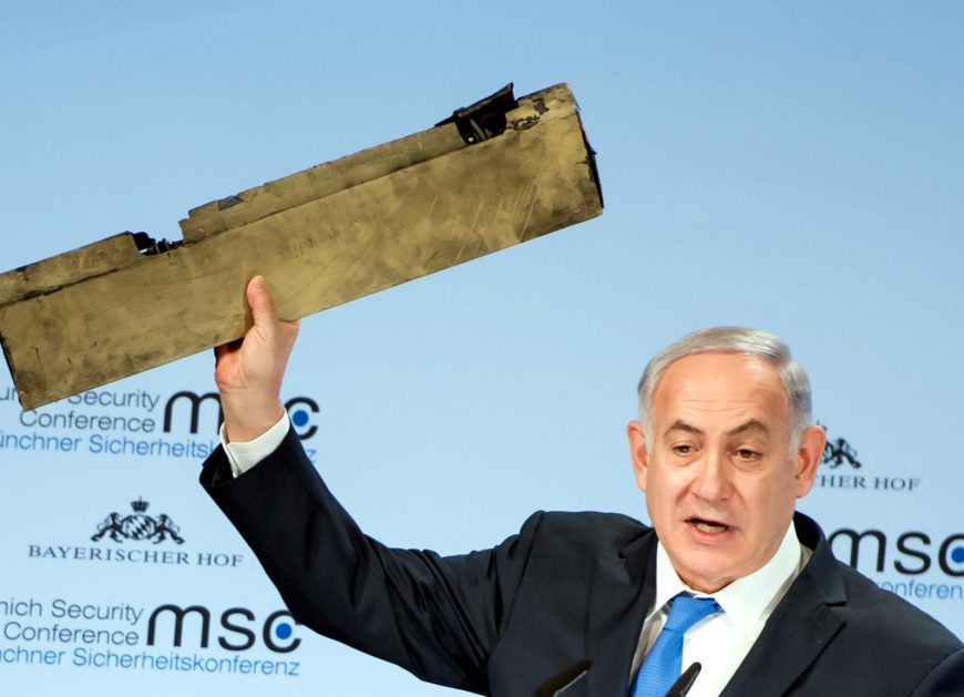 Netanyahu droned on during a recent speech.