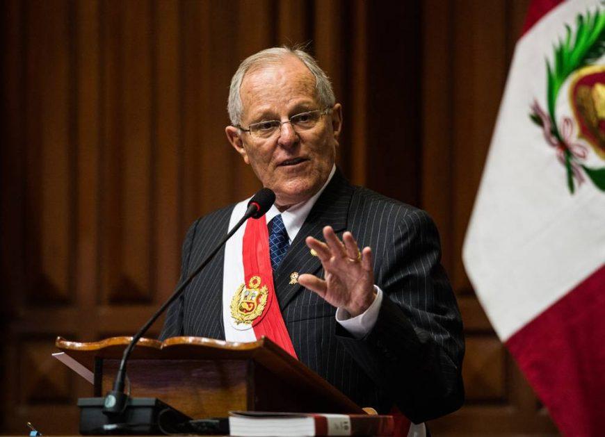 Президент Перу Педро Пабло Кучински. Коррупция