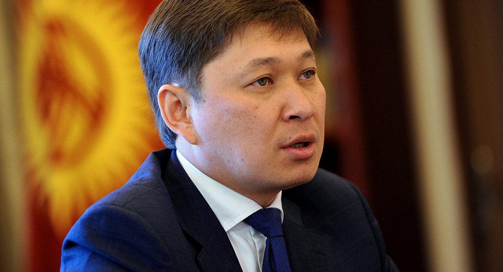 Премьер-министр Киргизии Сапар Исаков