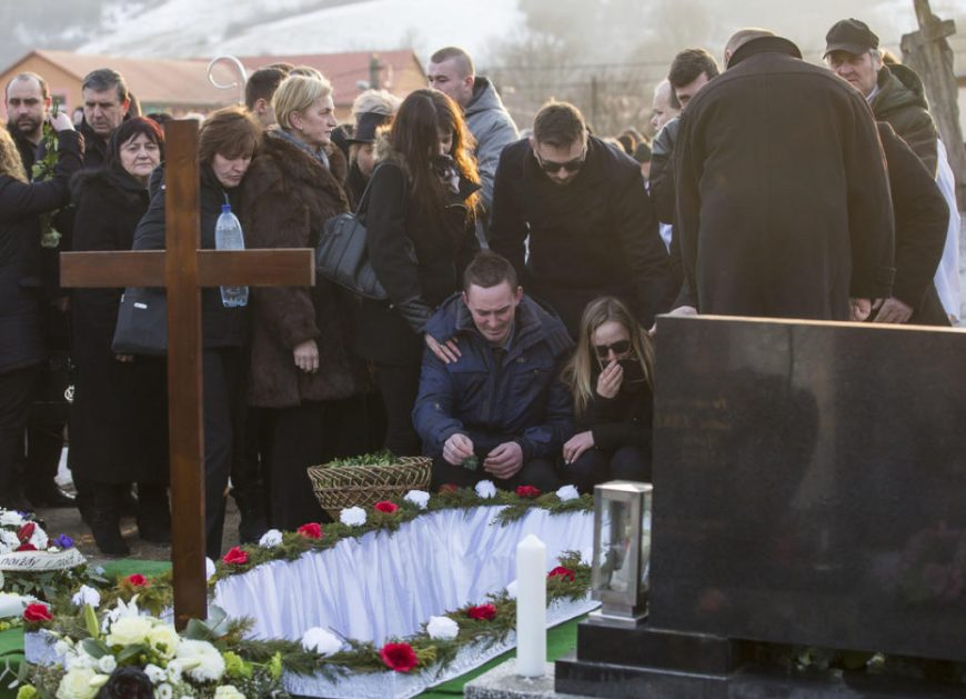 Похороны журналиста Яна Куцияка