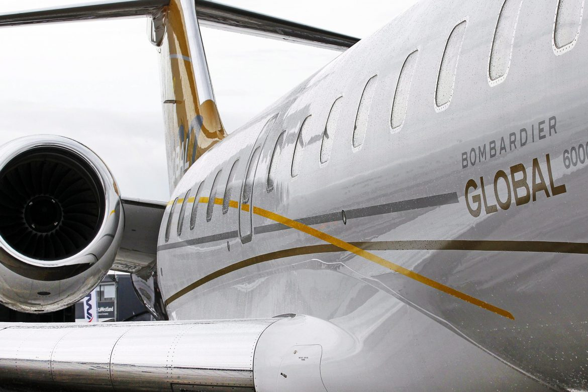 Самолёт Bombardier Global 6000
