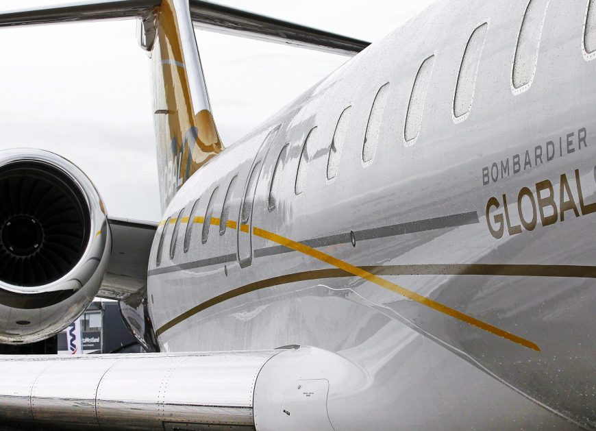 Самолёт Bombardier Global 6000