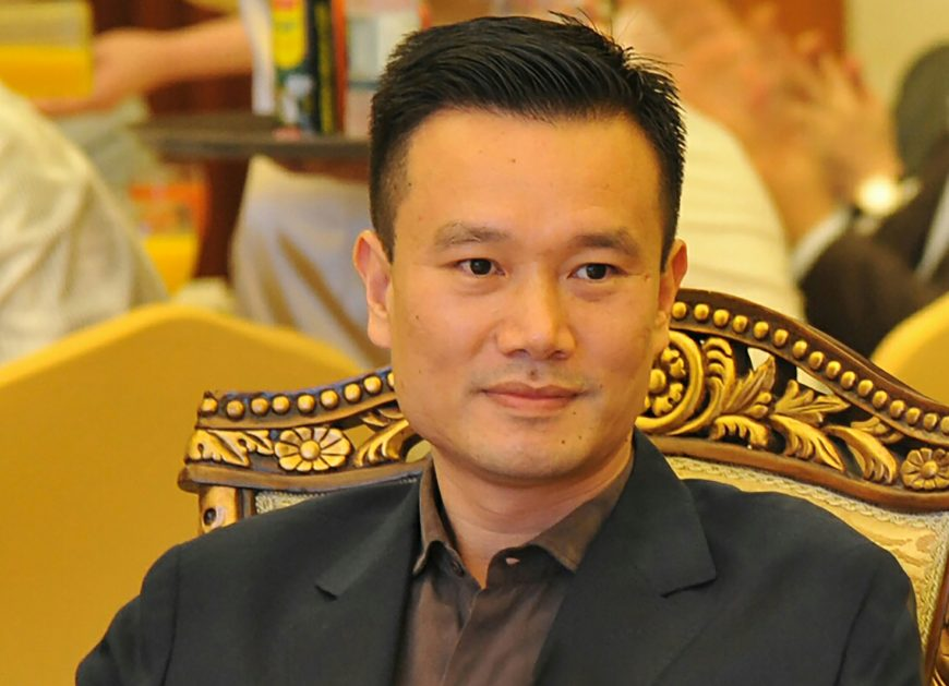 Ye Jiangming, the 39-year-old CEO of CEFC China Energy.