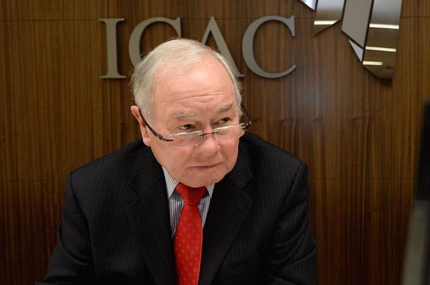 ICAC Commissioner the Hon. Bruce Lander QC.