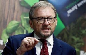 Кандидат на пост президента РФ от Партии роста, уполномоченный при президенте РФ по защите прав предпринимателей Борис Титов.
