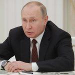 Президент России Владимир Путин. причины пожара