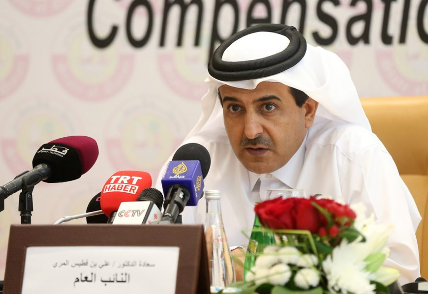 Qatari Attorney General Ali Bin Fetais Al-Marri