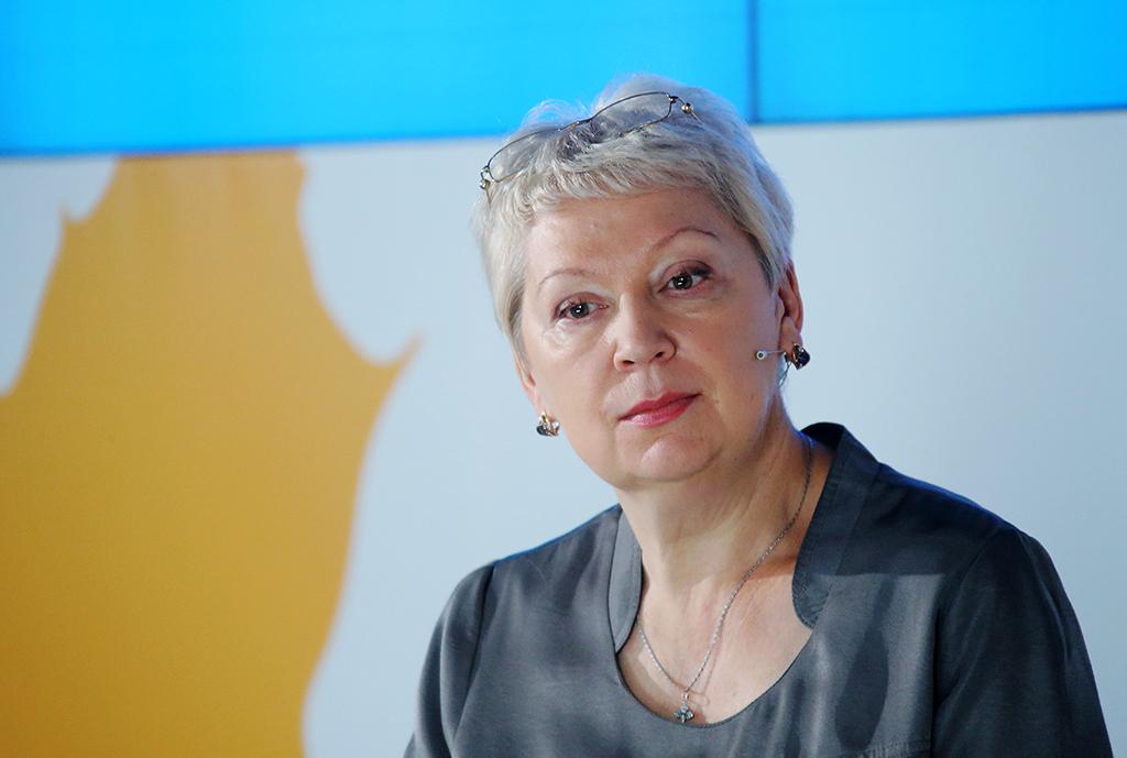 Глава Министерства образования и науки Ольга Васильева
