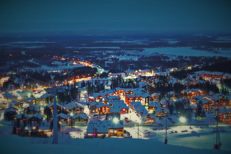 Финский горнолыжный курорт Леви