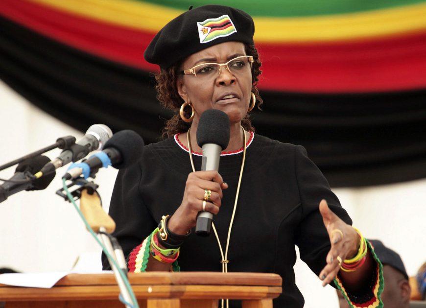 Жена экс-президента Зимбабве Грейс Мугабе