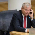 Член литовского парламента Миндаугас Бастис