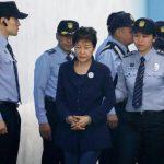 Пак Кын Хе, президент Южной Кореи, приговор бывшему, коррупция