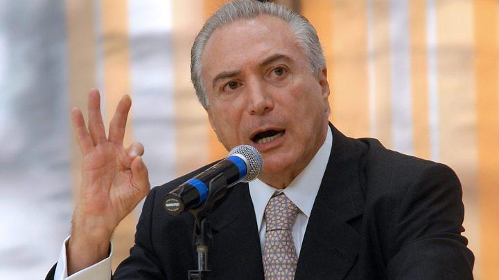 дочь президента Бразилии, коррупция, противодействие коррупции, Мишел Темер