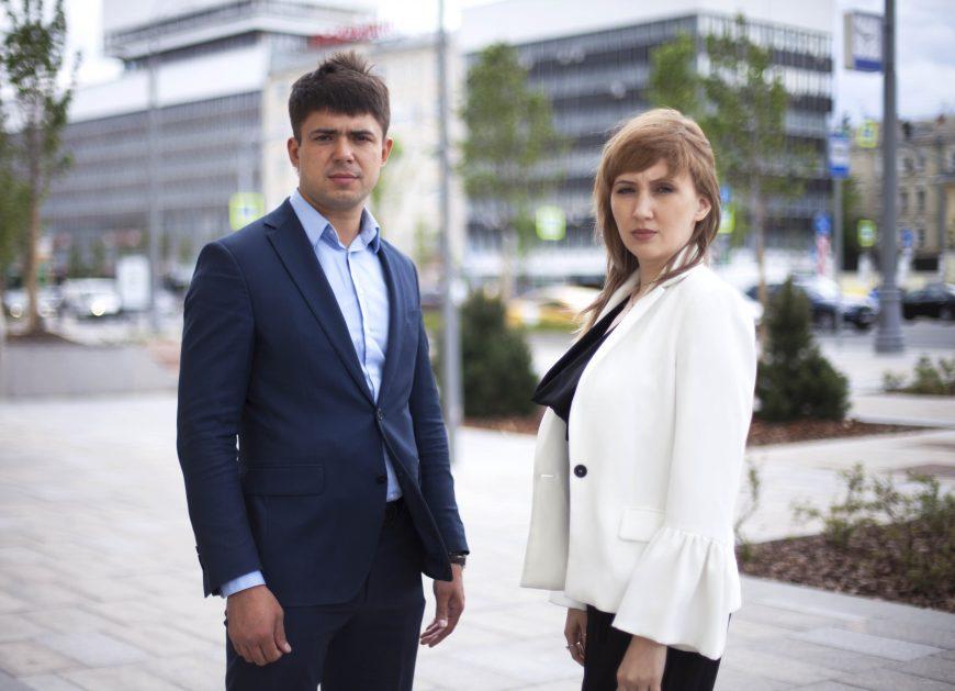 Антон Акишин и Ольга Дружинина