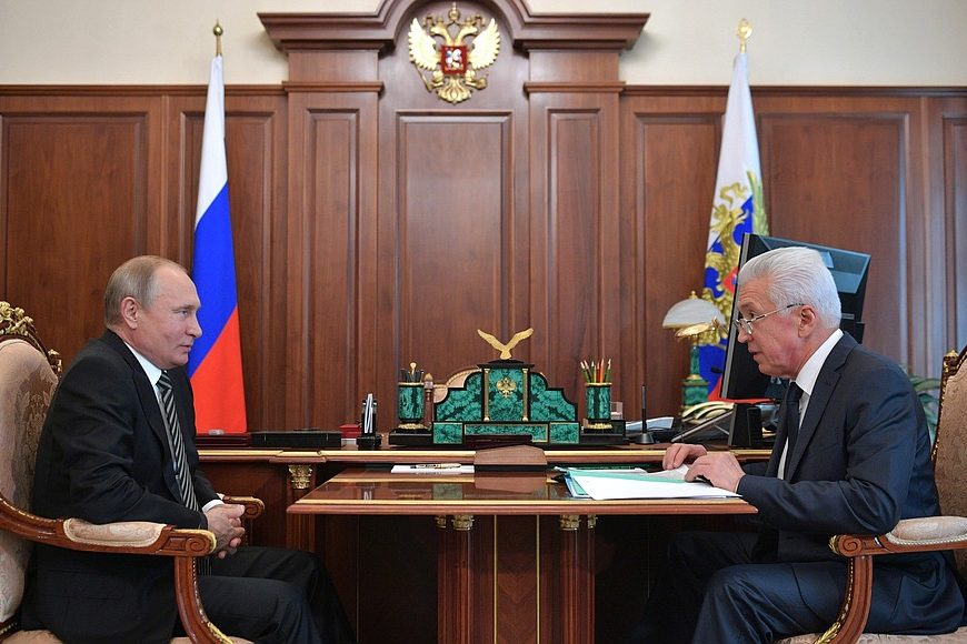 борьба с коррупцией в Дагестане, Путин, Васильев