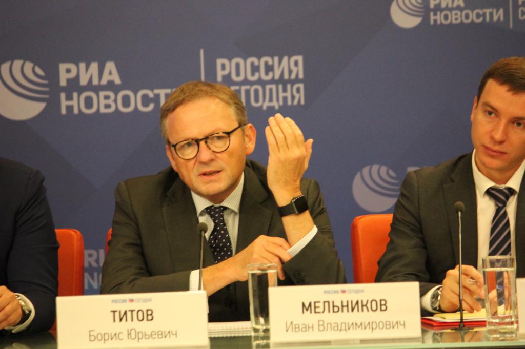 Уполномоченный по защите прав предпринимателей при президенте РФ Борис Титов