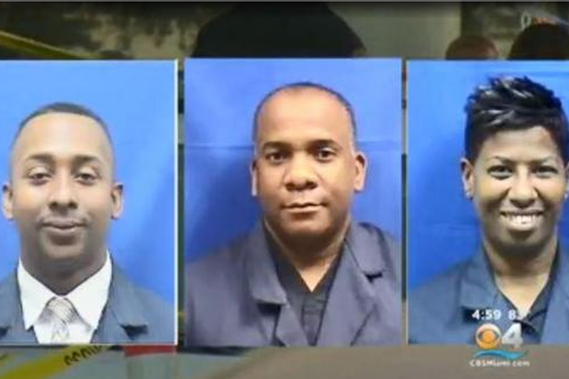 Three Miami police officers suspected of