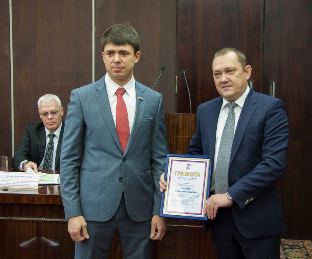 Советник главы Росалкогольрегулирования Анатолий Голубев и лидер общественного движения