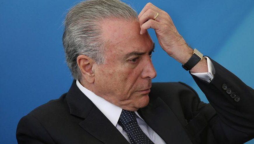 Экс-президент Бразилии Мишел Темер