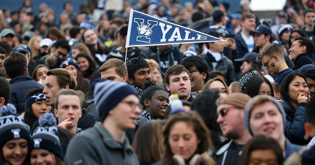Студенты Йельского университета