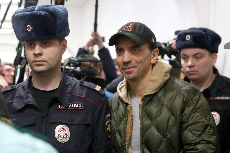 Задержание Михаила Абызова