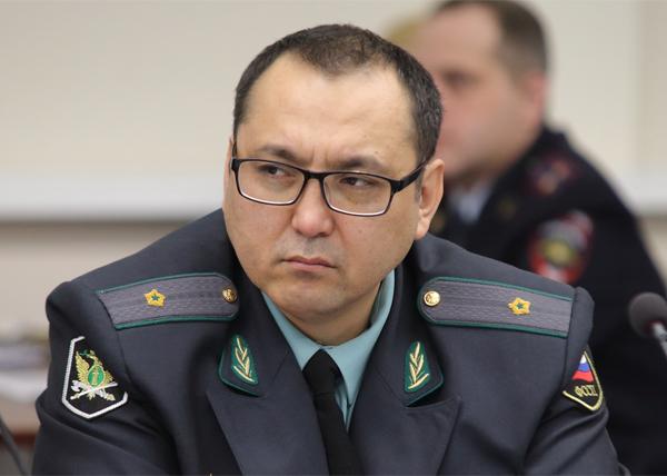 Главный пристав Томской области Иван Конгаров