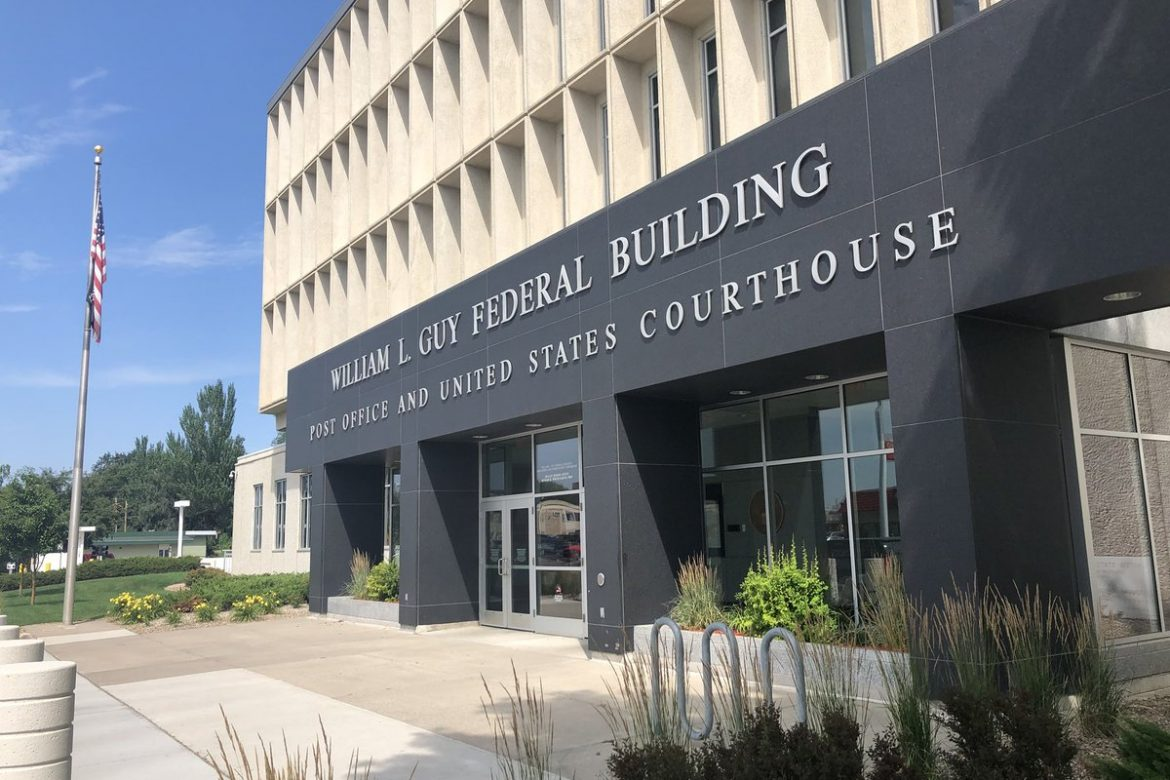 US federal court building