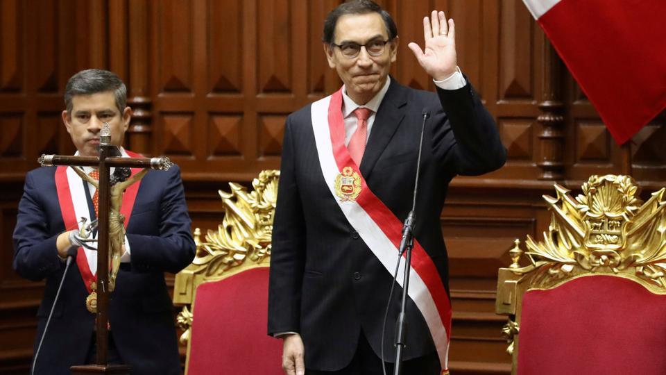 President of Peru Martin Vizcarra